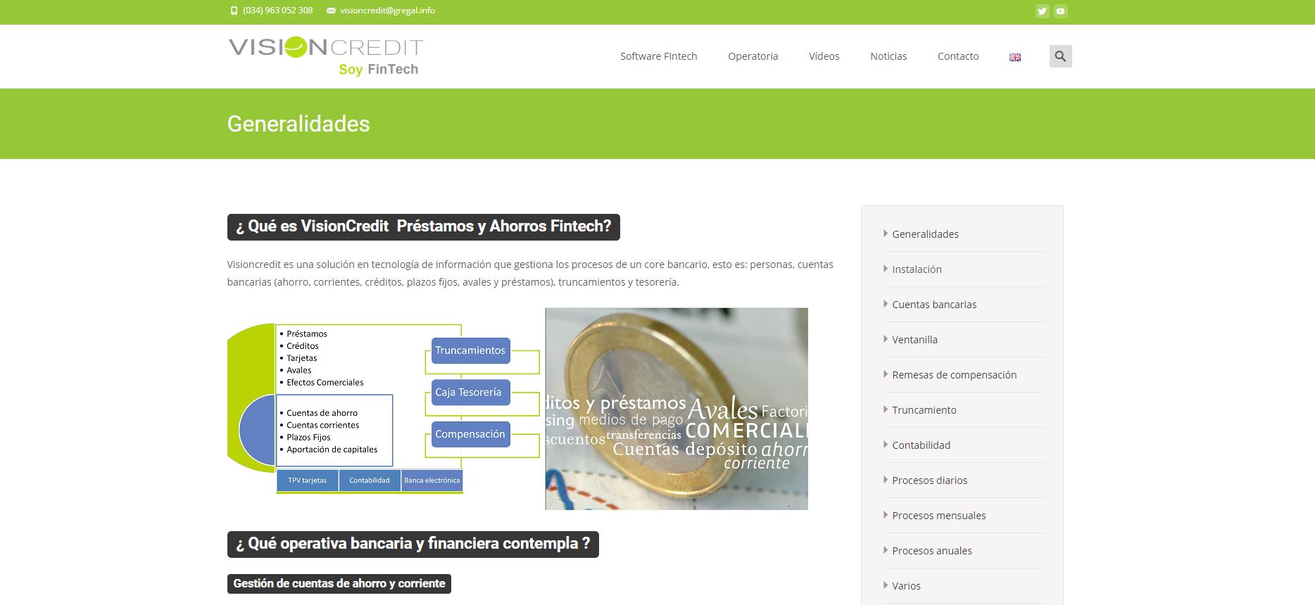 Manual VisionCredit Préstamos y Ahorros Fintech