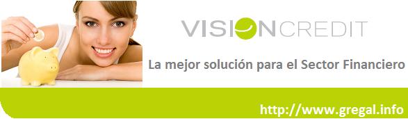 Plataforma informática Sección crédito Visioncredit Gregal Soluciones Informáticas